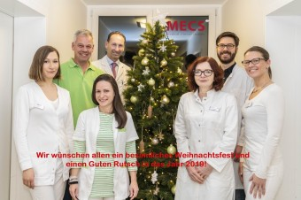 Das neue MECS-Team v.l.n.r.: Jasmin Preuß, Trenk Moses, Grit Hallwas, Dr. Frank Käßner, Dr. Iwona Cwiek, Dr. Florian Daub, Nicole Mieth